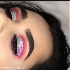 Pink & silver