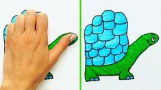 drawing tricks cool drawings easy draw dibujo desenhos animal dessiner crafts simple fun legais muito astuces
