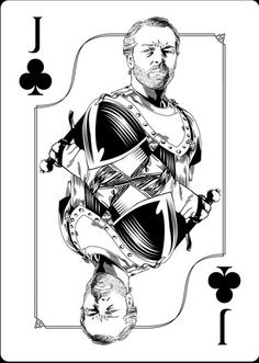 Playing Cards - Jack Of Clubs, Jorah Mormont, Game Of Thrones Playing Cards by Paul Nojima, Time Void - playingcards, playingcardsart, playingcardsforsale, playingcardswithfriends, playingcardswiththefamily, playingcardswithfamily, playingcardsgame, playingcardscollection, playingcardstorage, playingcardset, playingcardsfreak, playingcardsproject, cardscollectors, cardscollector, playing_cards, playingcard, design, illustration, cardgame, game, cards, cardist