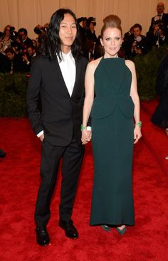 Alexander Wang and Julianne Moore in Balenciaga by Alexander Wang