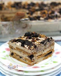 Mocha Cookie Crumble Icebox Cake