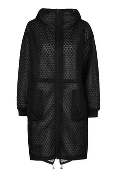 Hexagon Mesh Parka by Ivy Park - Ivy Park - Clothing - Topshop Europe