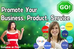 promote your business, product, or service  I will:   Promote your business/product/service on my Blog, websites, and social media sites.  Advertise your business/product/service on Business Directories websites (World Wide or you can choose location).  Promote your business/product/service on my social media sites.  Promote your business/product/service on Forum Web sites.