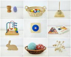 On Our Montessori Shelves - 10 months - infant toys - via http://sixtineetvictoire.com