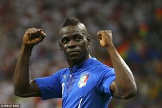 Mario Balotelli was a 'prankster who urinated on people' according to new book 'Balotelli: The Remarkable Story'