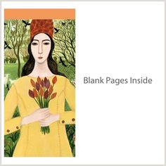 Girl With Tulips - To Do Pad (PAD DN0 09) | Greeting Cards and Stationery