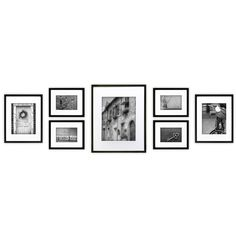 Gallery Perfect 7-piece Black Frame Kit - Free Shipping Today - Overstock.com - 18996760