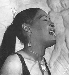 Billie Holiday wearing Torun