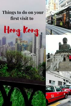 Things to expect on your visit to Hong Kong.
