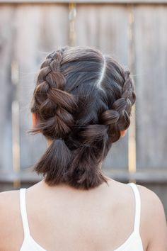 Die 39 Besten Bilder Zu Schulterlange Haare Flechten