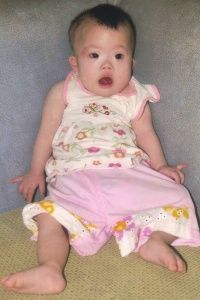Haylie! Sweet baby girl with down syndrome who needs a home