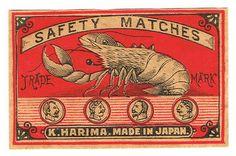 lobster matchbox @JoescrabShack #JoesCrabShack
