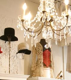 great hat display