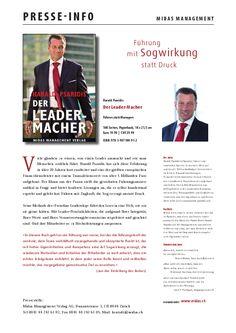 Presse Info vom MIDAS Verlag zur 3.Auflage  (zum genauen Lesen der Info - bitte auf das Bild klicken)