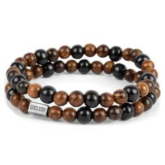 Buy Lucleon - Impeccable Bracelet for only Shop at Trendhim and get returns. We take pride in providing an excellent experience. Paracord Bracelets, Bracelets For Men, Beaded Bracelets, Casio Protrek, Black Leather Bracelet, Engraved Bracelet, Bracelet Cuir, Bracelet Set, Diy Jewelry Making