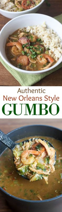 @beyjess12 // Gumbo is a traditional stew from New Orleans and Creole culture that I've been longing to try for a while. This recipe is simple and has great photographs to accompany your cooking.