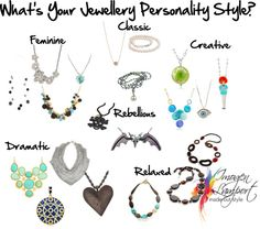 Personality Styles - Necklaces