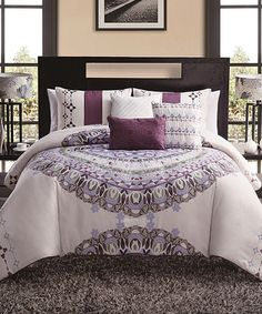 Look what I found on #zulily! Ivory Marrakesh Six-Piece Duvet Set #zulilyfinds