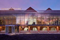 MUMA's whitworth expansion realized as a 'gallery in the park'