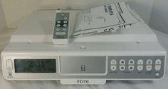 iHome Under Cabinet Kitchen System iH36 iPod 3g 4g Color AM/FM Radio TV Weather #iHome