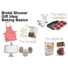 Wedding Gift Ideas For The Kitchen : Baking Bridal Shower on Pinterest Kitchen bridal showers, Bridal ...