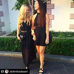 Its only a few weeks ago but feels like forever ago!! #cousins #newyearseve #nye #portfairy #victoria #australia #lbd #littleblackdress #fun #summer #instagood #smile #igers #blonde #brunette #everybodyhasfun #black #dress #fashion #longhair #curles #straight #celebrations #michaelkors #jewellery #tall by taishariccara