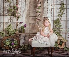 Garden Doors ~ Love this Photography Backdrop from Baby Dream Backdrops.