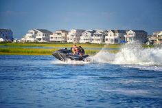 Tackle the ocean waters on a jet ski this summer. Cape May Point, Ocean City, Jersey Cape, Cape May County, New Jersey