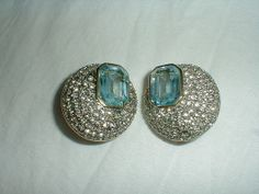 valentino earrings vintage by qualityvintagejewels on Etsy, $350.00