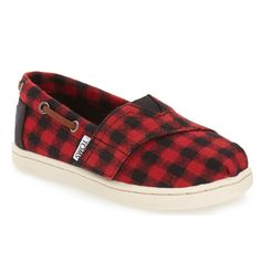 Buffalo Plaid TOMS -