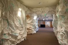 paper mache cave - Google Search