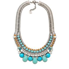 DANNIJO Zinnia Necklace ($612) ❤ liked on Polyvore