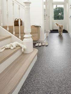 Flexxfloors pvc vloertegel terazzo antraciet 2,09 m²