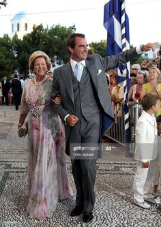 Greek Royalty, Tuxedo Wedding, Anna Marias, Royal Weddings, Queen Anne, Victoria, Stock Photos, August 25, Cathedral