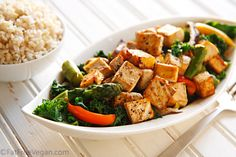 "Thai Black Pepper and Garlic Tofu ""A little too much liquid for me, but the tofu was excellent!  I would make it a gain but reduce the amount of veg. broth"""