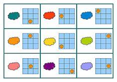 tableaux-code-consignes-couleurs Logic Games For Kids, Dyslexia, Blog, Activities, Education, Autism, Puzzle, Training, Atelier