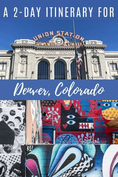 A Denver Weekender. The ultimate guide to Denver, Colorado. Itinerary for the best things to see and do and where to eat and stay in the Mile High City. Denver Travel, Travel Usa, Travel Tips, Travel Oklahoma, Weekend In Denver, Denver Colorado, Colorado Winter, Colorado Springs, Visit Denver
