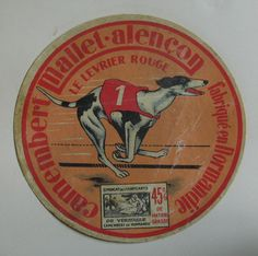 https://flic.kr/p/dJWPK1 | Vintage Camembert Cheese Label. | The timespan of this collection is approx from 1930s to 1960s.