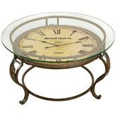 Found it at Wayfair - Coffee Table with Clock