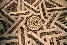 Patchwork Inspiration  -  Полы. Кафедральный  собор  в  Монреале,  Палермо,  Сицилия.  Duomo di Monreale или Santa Maria Nuova) .