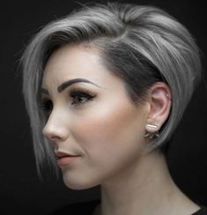 Ideas Of Short Layered Haircuts 2019 22 : Ideas Of Short Layered Haircuts 2019 22 Latest Short Hairstyles, Short Layered Haircuts, Fancy Hairstyles, Bob Hairstyles, Trending Hairstyles, Layered Hairstyles, Bob Haircuts, Celebrity Hairstyles, Hairdos