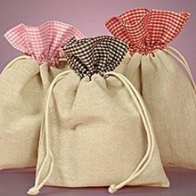 cotton drawstring pouch wholesale - Google Search