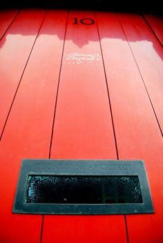 Red door by Romana Murray on Doors, Red, Gate