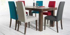 Bentley Designs Miles Walnut Dining Chairs