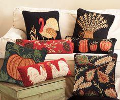 Fun autumn pillows