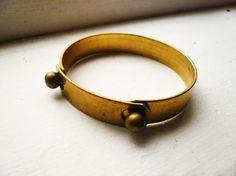 // brass bracelet