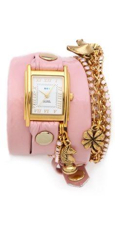 Crystal Ballerina Charm Watch