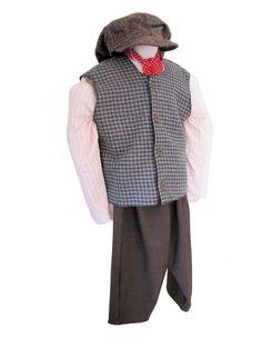 Boys Victorian Edwardian Oliver Twist Costume Image