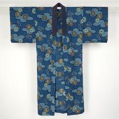 Nagajuban for man / 練習用などとしてご使用頂けるモスリン素材の男物長襦袢 http://www.rakuten.co.jp/aiyama #Kimono #Japan #aiyamamotoya