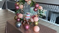 Best Indoor Garden Ideas for 2020 - Modern Diy Centerpieces, Wedding Reception Decorations, Decor Wedding, Wedding Cake, Balloon Centerpieces Wedding, Tree Wedding, Balloon Wreath, Balloon Cake, Quilling Cake